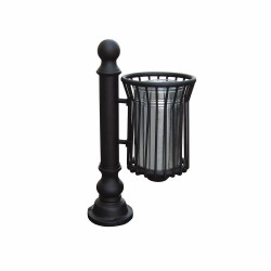 Ferforje Sokak Çöp Kovası Klasik