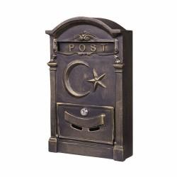 Ferforje Posta Kutusu Ay Yıldızlı