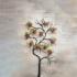 Ferforje Ağaç Desenli Saksılık