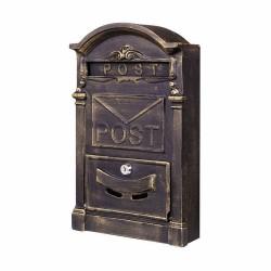 Ferforje Posta Kutusu Duvar Monteli