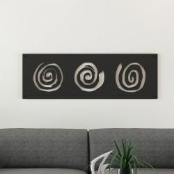 Spiral Desenli Metal Tablo
