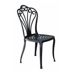 Ferforje Kolsuz Sandalye Desenli